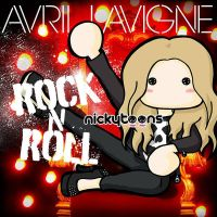 Avril Lavigne - Rock N Roll Single by NickyToons