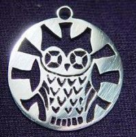 Owl Pendant by StephaniePride