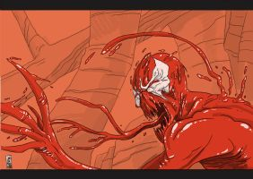 Carnage digisketch by hyperjack08