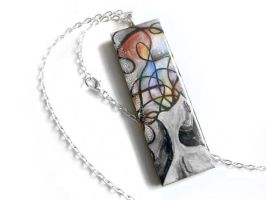 Secret Anxiety - Pendant Necklace / Sold by sobeyondthis