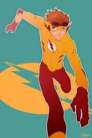Young Justice Kid Flash by paper-hero