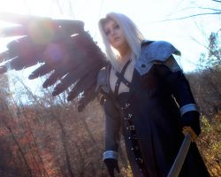 One Winged Angel by PixieAlchemi