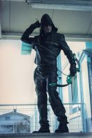 Arrow - Oliver Queen by Leon Chiro Cosplay Art by LeonChiroCosplayArt
