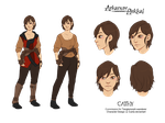 Character Design- Cathy by Cuine
