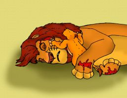 Tragical Disney - Mufasas Death by wolfmarian