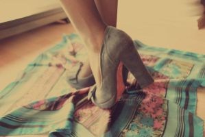 .blue shoes... by madamee-themad