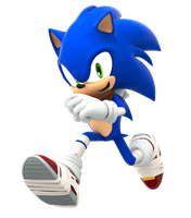 Sonic Boom Running Pose (Upgraded) by FinnAkira