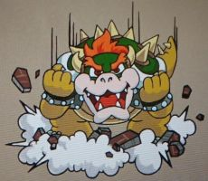Bowser's Entrance by PunkAsFcuk82