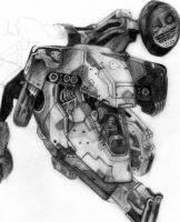 MGS - Metal Gear REX by deathlouis