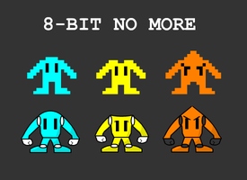 8-Bit No More by Unknowni123