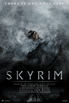 Skyrim the Movie - Teaser Poster by rockmassif