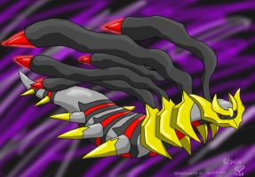 Giratina :Orgin Forme: by eevee4everX3