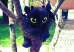 Cute Baby Nightfury on tree paint.net3 by Neoguest