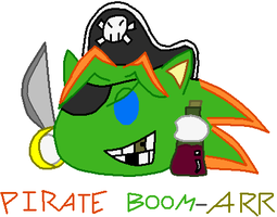 Pirate Boom-ARR by BoomerBOmb