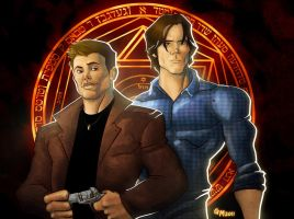 The Winchester Brothers by GavinMichelli