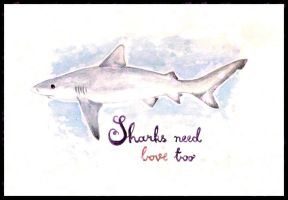 Shark Love by frikibunny8