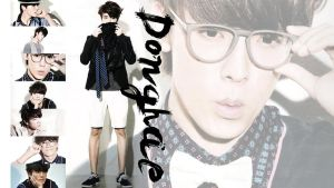 Donghae High Cut Magazine Wallpaper by ForeverK-PoPFan
