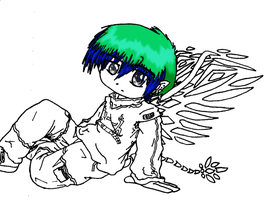 --Unfinished- Little Fairy Boy by DelusionInABox