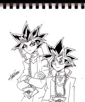 Yami and Yugi by ALS123