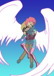 Fly With Me COLORED by Anime-Apothecary