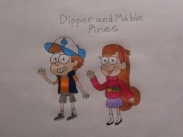 Gravity Falls Mystery Twins by KaitlynAnn
