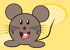 Cheesy Mouse by MawsCM