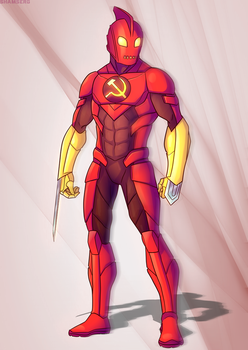 Gods and Monsters Marvelverse: Crimson Dynamo by MonsterLover12