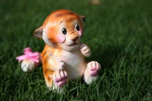Lil tiger Sculpture by T-Tiger