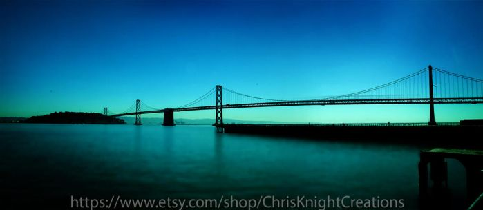 The Bay Bridge by dogeatdog5