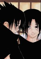 Sasuke and Itachi-Happy Past? by Red-Priest-Usada