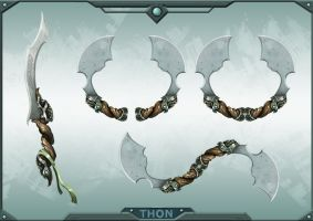 THON Weapon 7 by JustMick