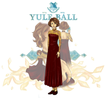 ILGB: Yule Ball Gown '15 by Everluffen