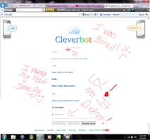really cleverbot? Reallly? by Cilote12