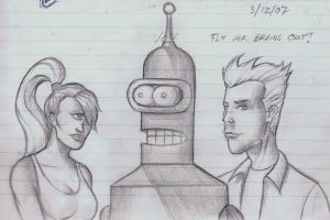 futurama in the real world by Dreee