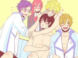 Iwatobi swim club by Chasu-Bluepug