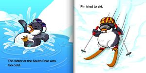 Penguin Story by intrepica