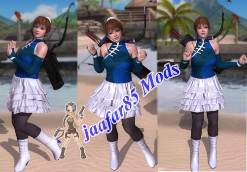 DOA5LR :Chinese Frilldress Mod For Phase4 by jaafar2009