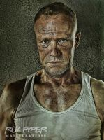 The Walking Dead: Merle: HDR Re-Edit by nerdboy69