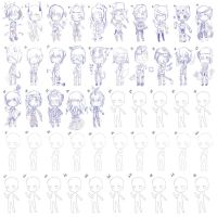 Pre-Order Adoptables: 50 Theme Challenge [OPEN] by TCS-Adoptables