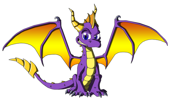 Spyro the Dragon by Moheart7