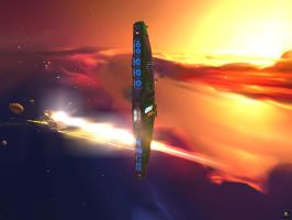Dreadnaught Phased Canon Array by LuckyHRE