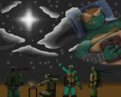 TMNT - Dreamin' by NinjaTertel