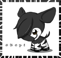 Just Another Okapi by rosychan
