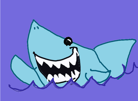 fish? how about a shark? by rugdog