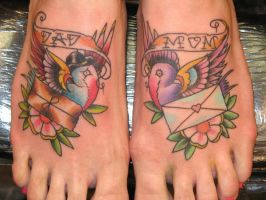 Bird Feet by TattooElvis