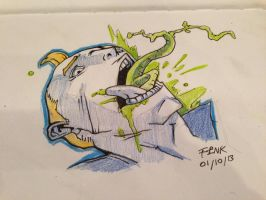 Martian Mouth Sketch by finkgraphics