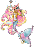 Sirenna, OC Monster High by darkodordevic