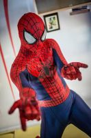 Amazing spiderman 2 replica costume by VH by Villageshope