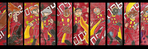 Bookmarks - Cyborg 009 by Genolover