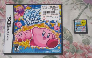 Kirby Mass Attack and Starfy by T95Master